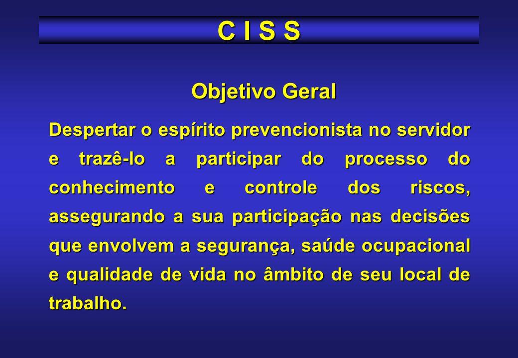 C I S S Objetivo Geral.