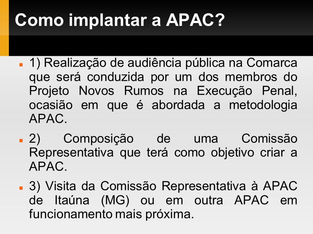 Como implantar a APAC