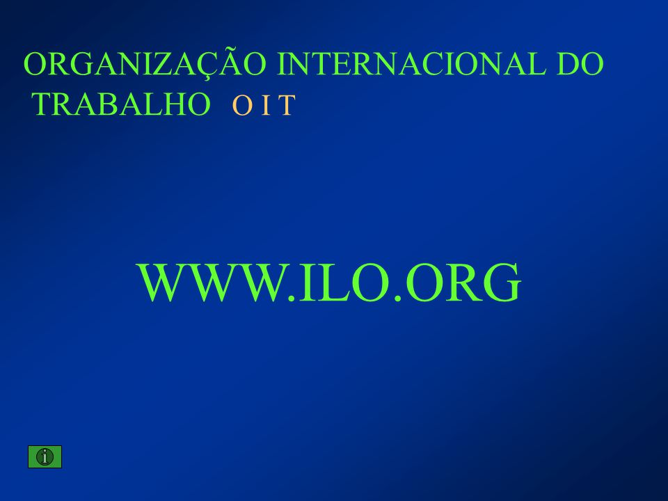 ORGANIZAÇÃO INTERNACIONAL DO