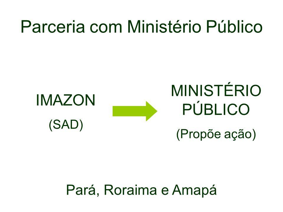 Parceria com Ministério Público