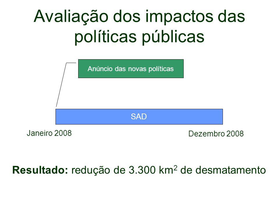 Avaliação dos impactos das políticas públicas