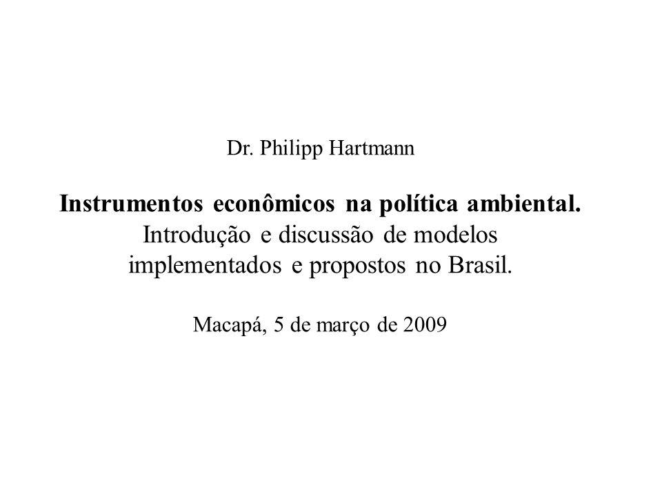 implementados e propostos no Brasil.