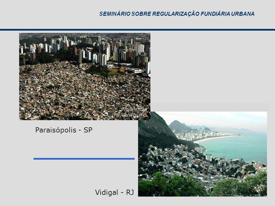 Paraisópolis - SP Vidigal - RJ