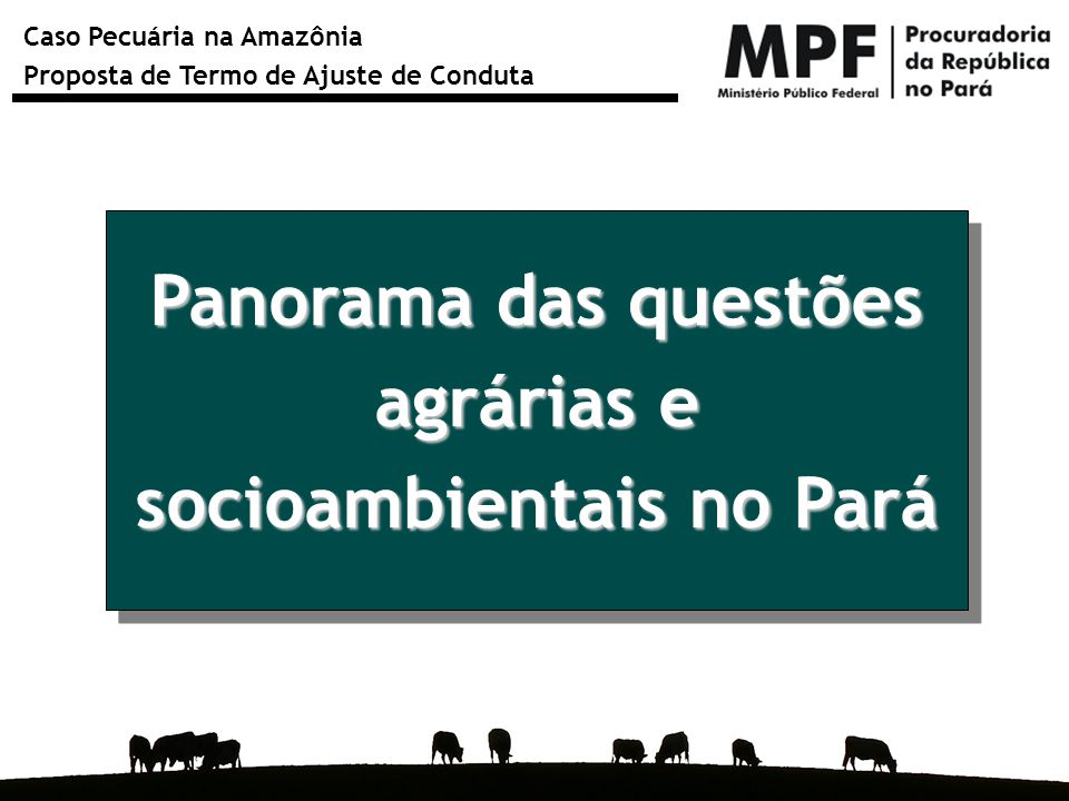 socioambientais no Pará