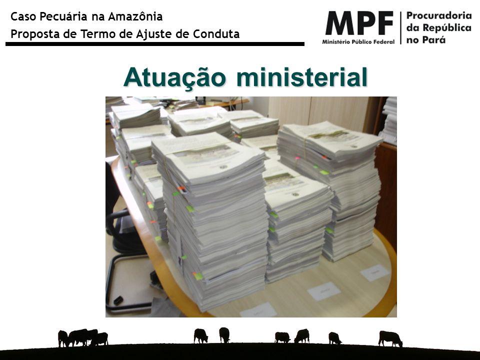Atuação ministerial