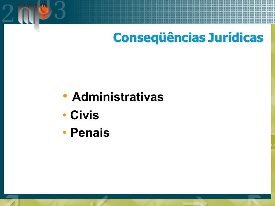 Conseqüências Jurídicas