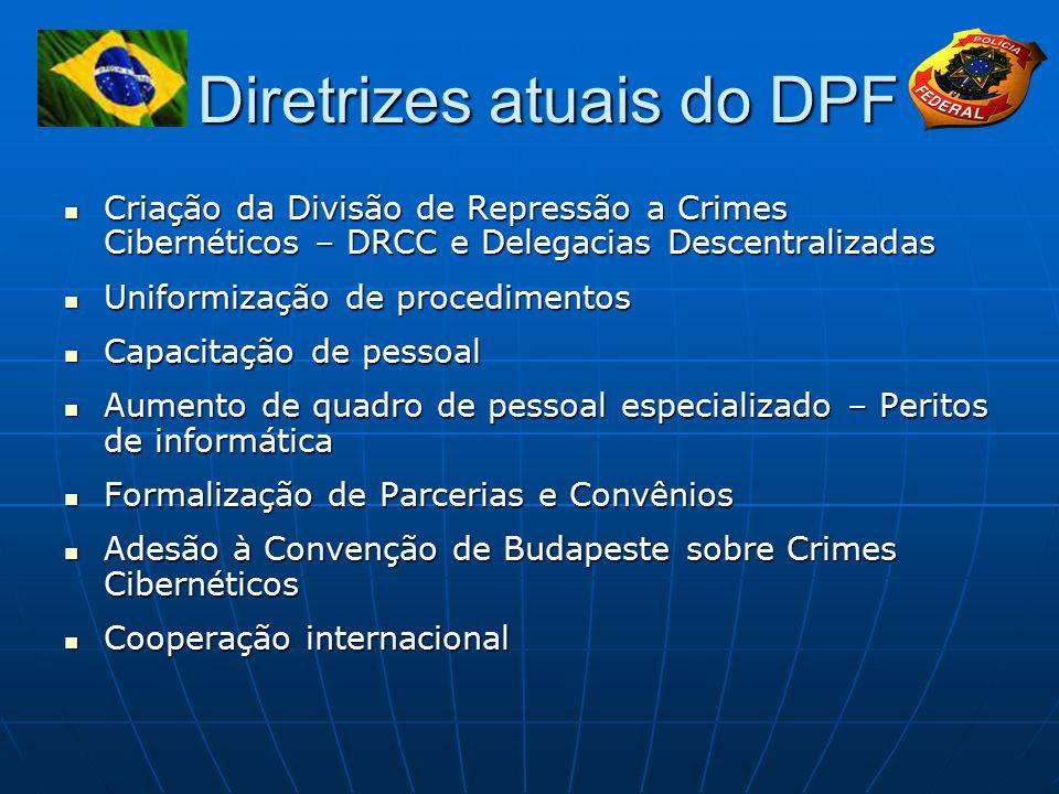 Diretrizes atuais do DPF