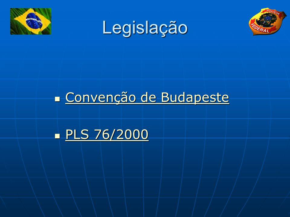 Legislação Convenção de Budapeste PLS 76/2000