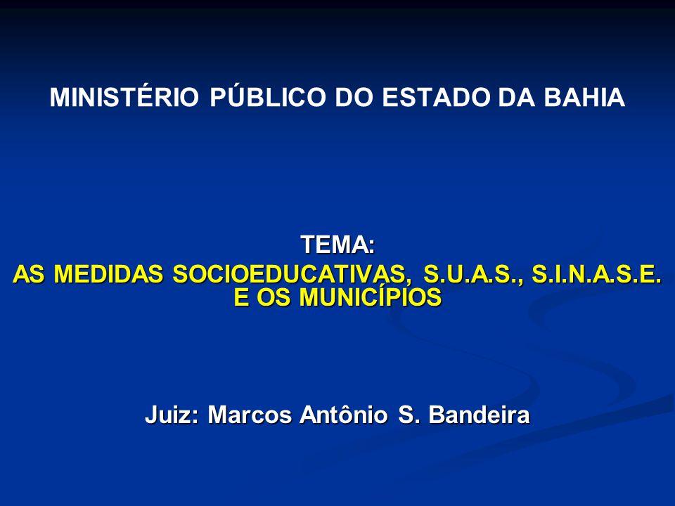 MINISTÉRIO PÚBLICO DO ESTADO DA BAHIA