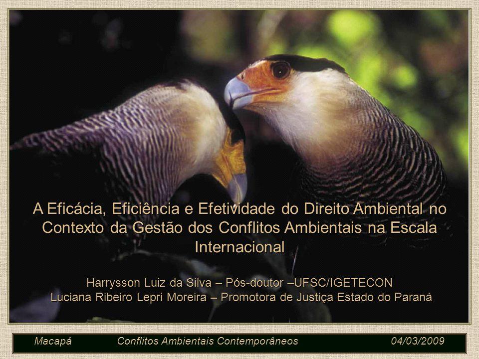 Macapá Conflitos Ambientais Contemporâneos 04/03/2009