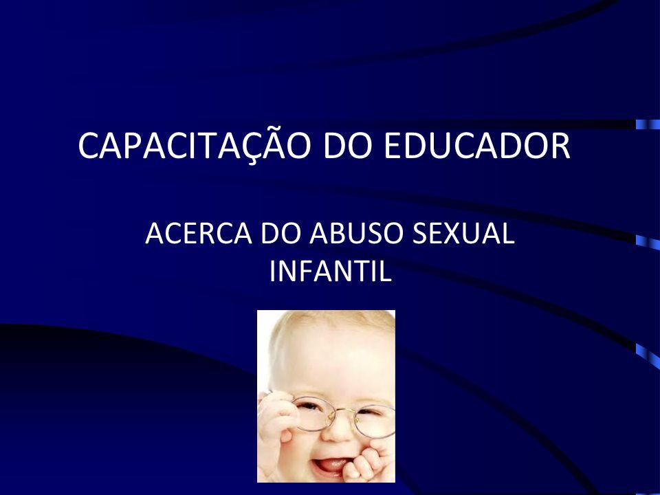 CAPACITAÇÃO DO EDUCADOR