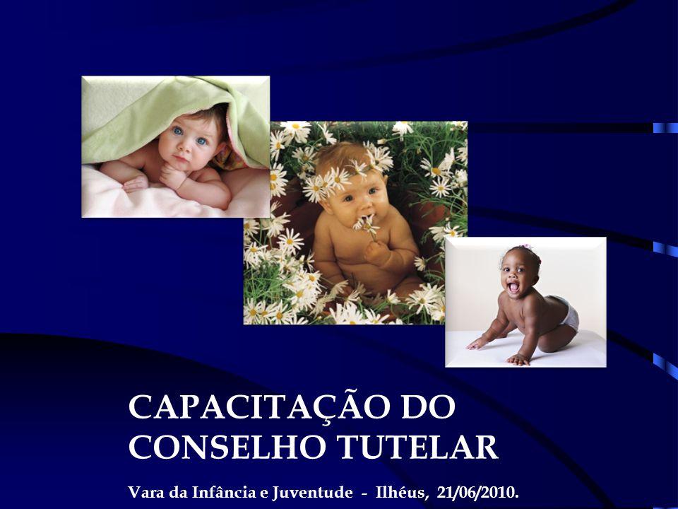 CAPACITAÇÃO DO CONSELHO TUTELAR