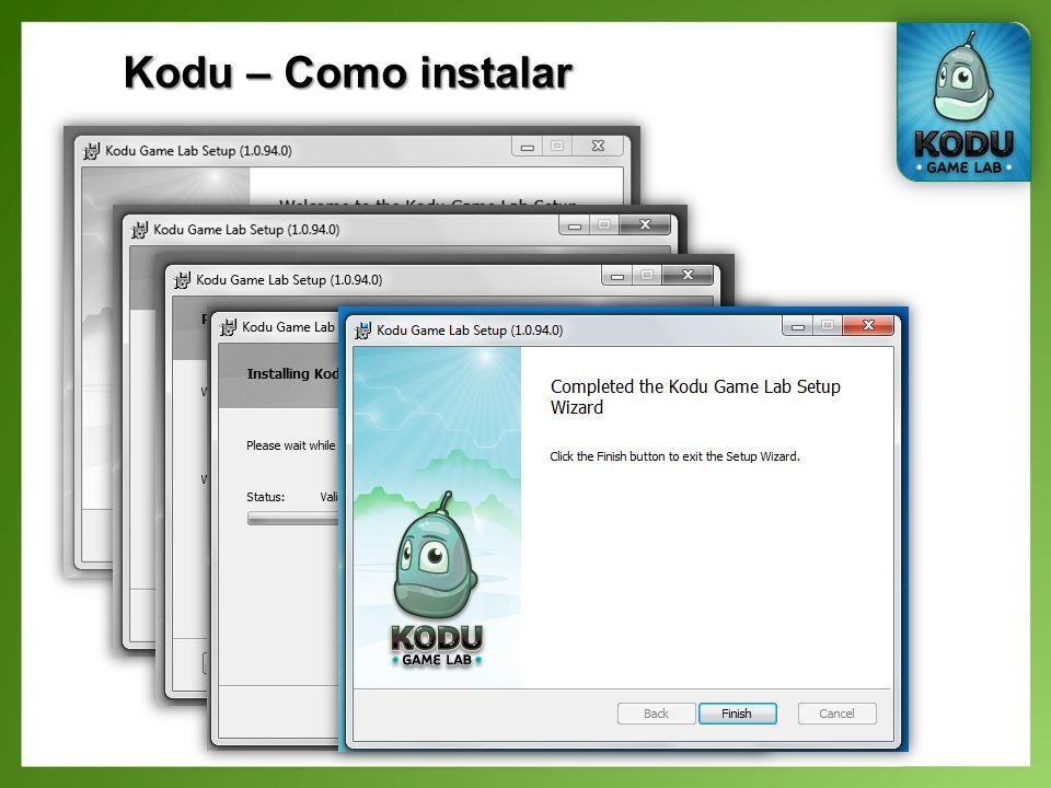 Kodu – Como instalar