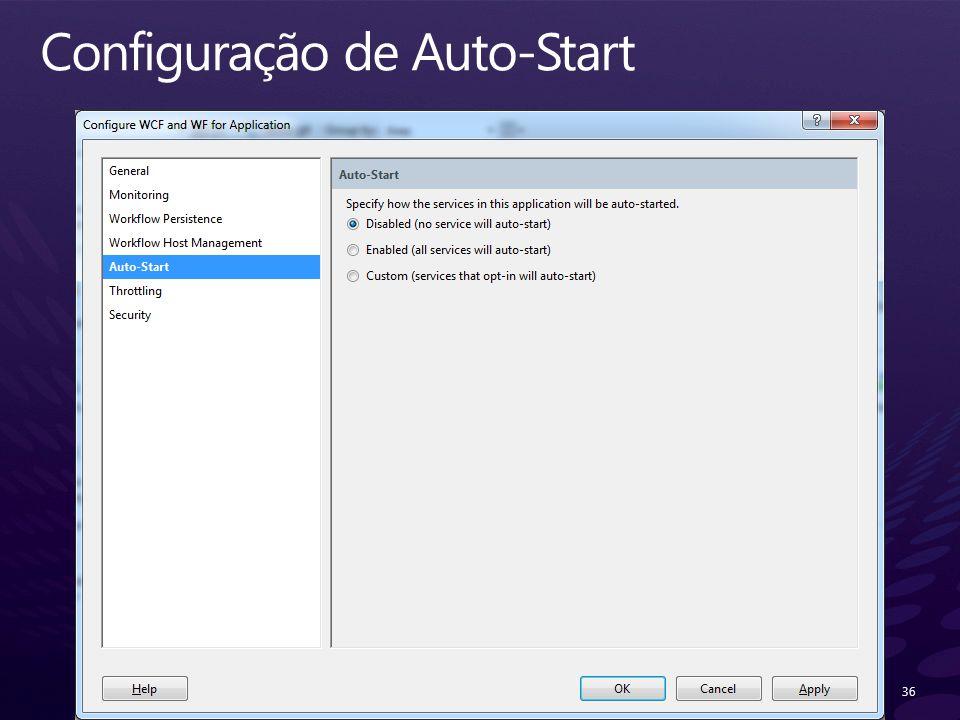 Configuração de Auto-Start