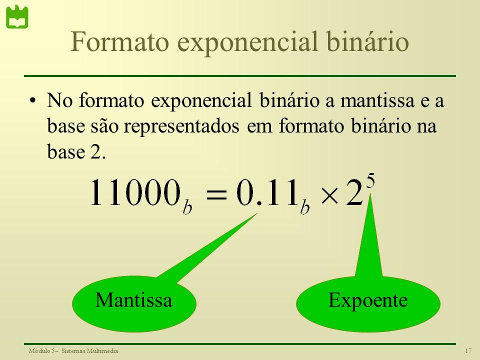 Formato exponencial binário