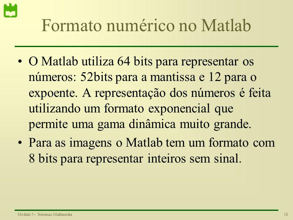 Formato numérico no Matlab