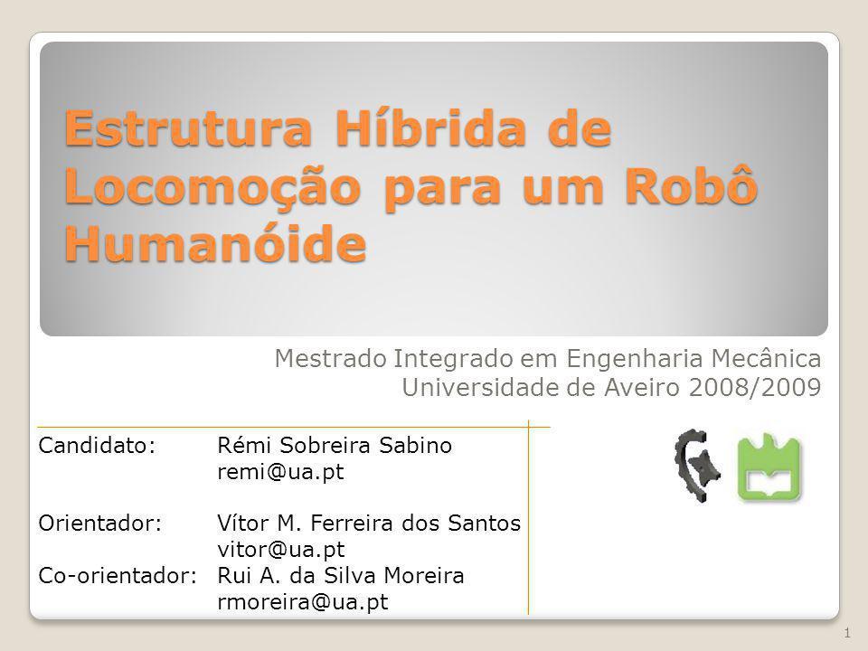 Estrutura Híbrida de Locomoção para um Robô Humanóide