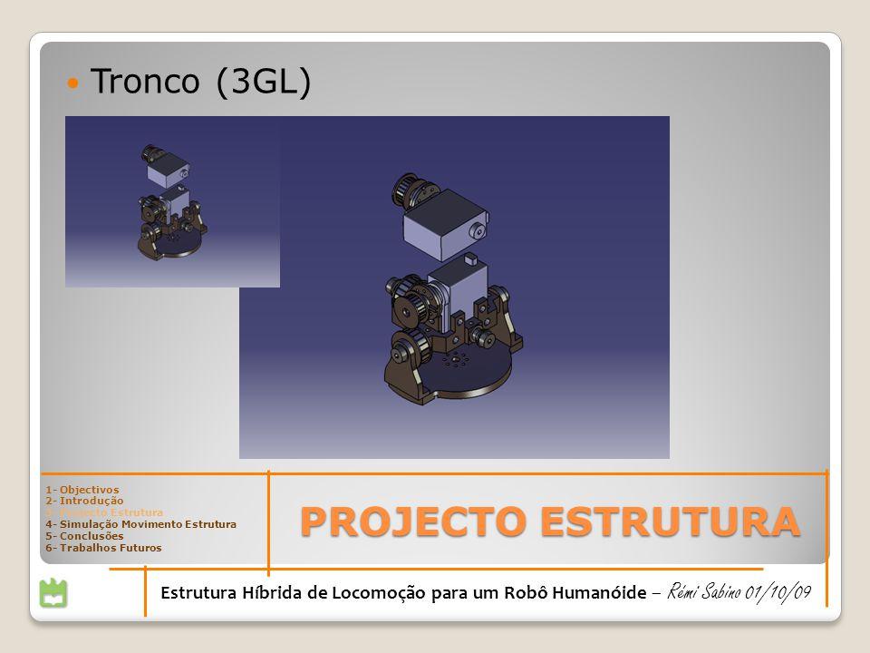 PROJECTO ESTRUTURA Tronco (3GL)
