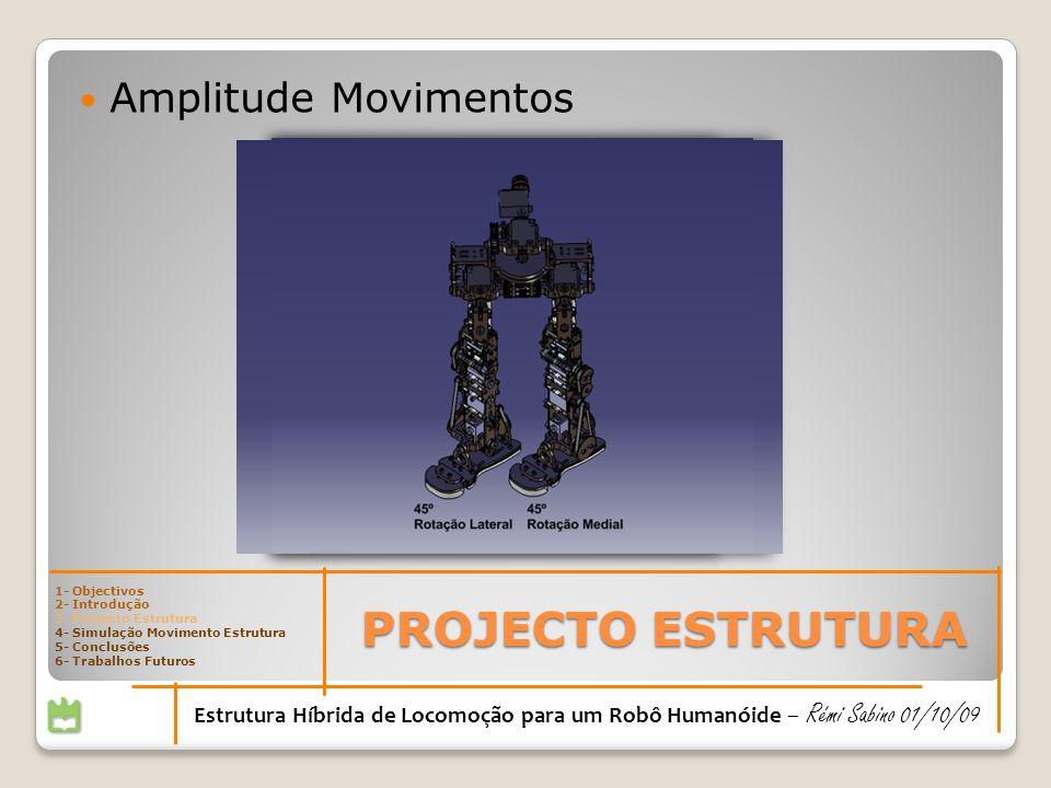PROJECTO ESTRUTURA Amplitude Movimentos