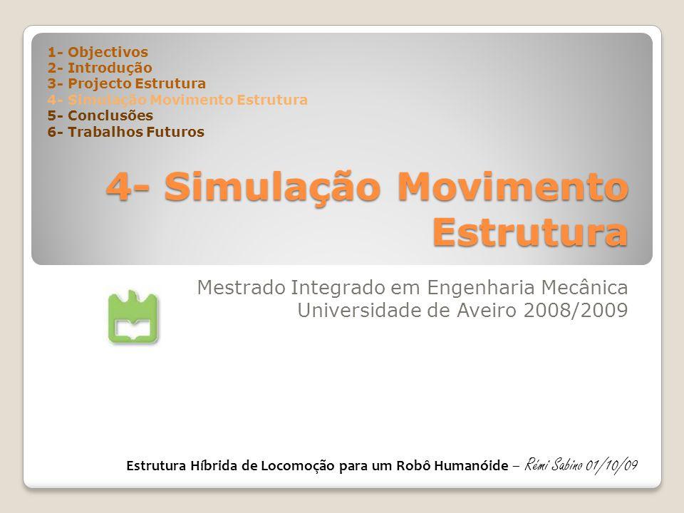 4- Simulação Movimento Estrutura
