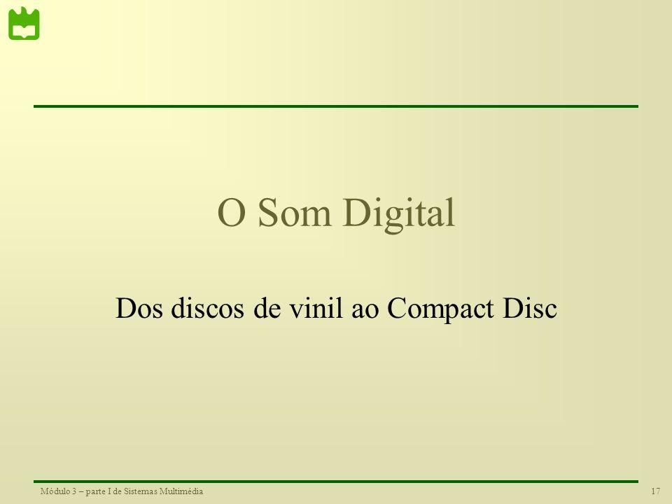 Dos discos de vinil ao Compact Disc