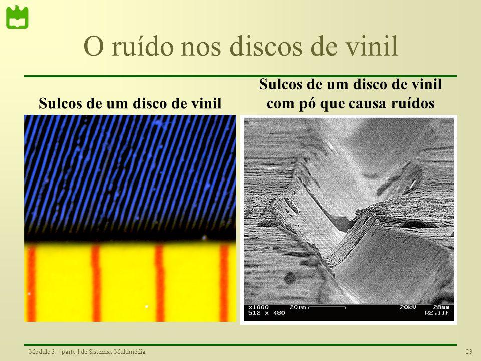O ruído nos discos de vinil