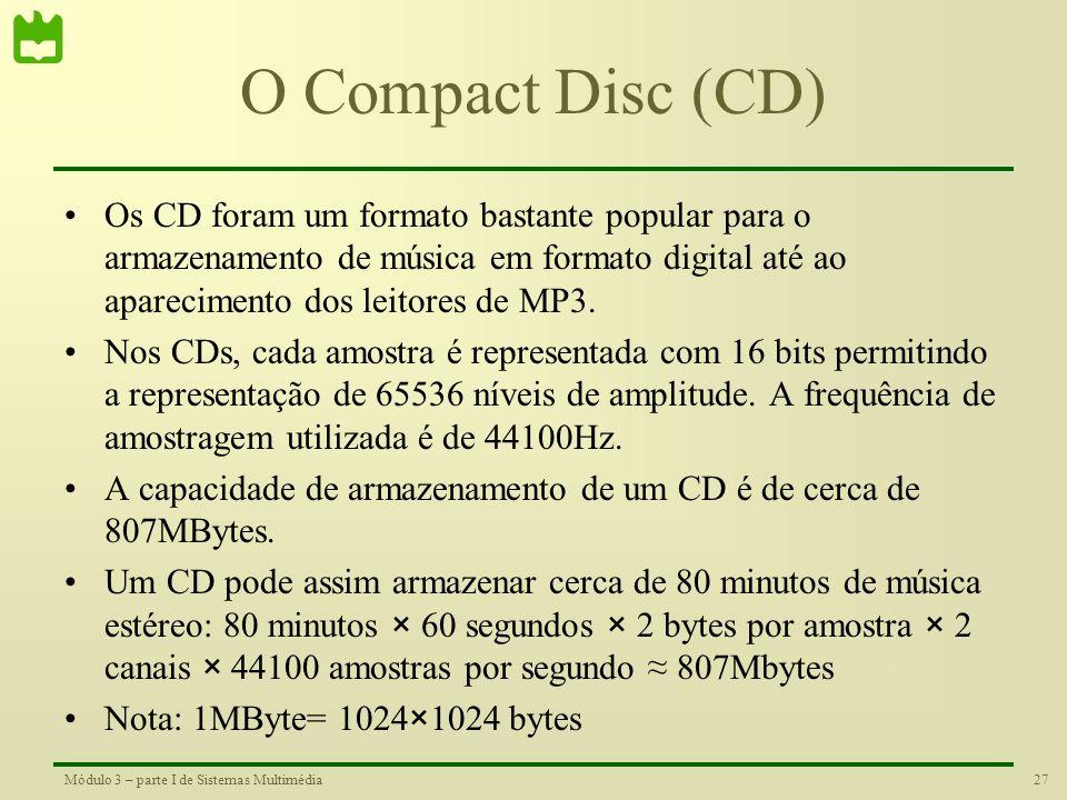 O Compact Disc (CD)