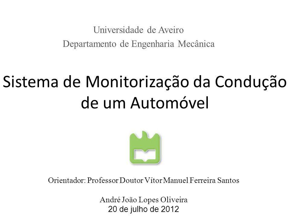 Sistema de Monitorização da Condução de um Automóvel