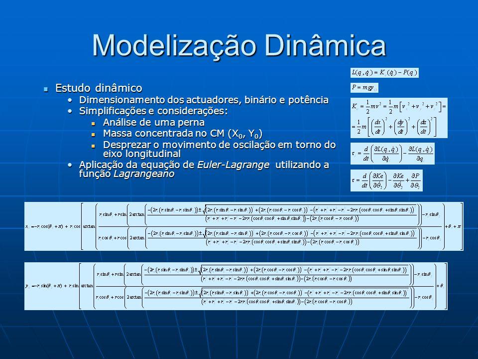 Modelização Dinâmica Estudo dinâmico