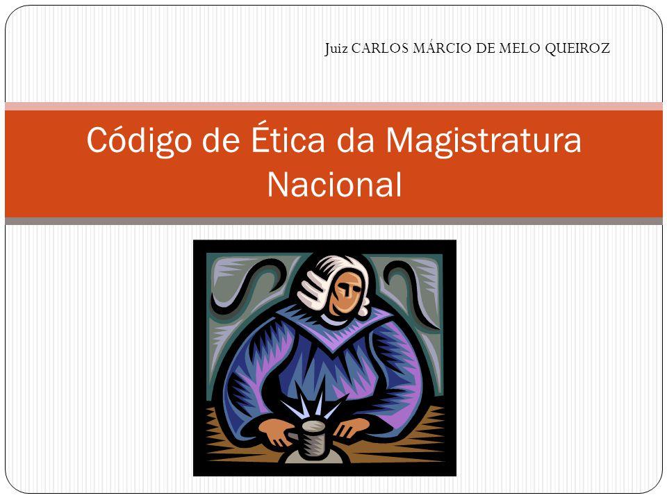 Código de Ética da Magistratura Nacional