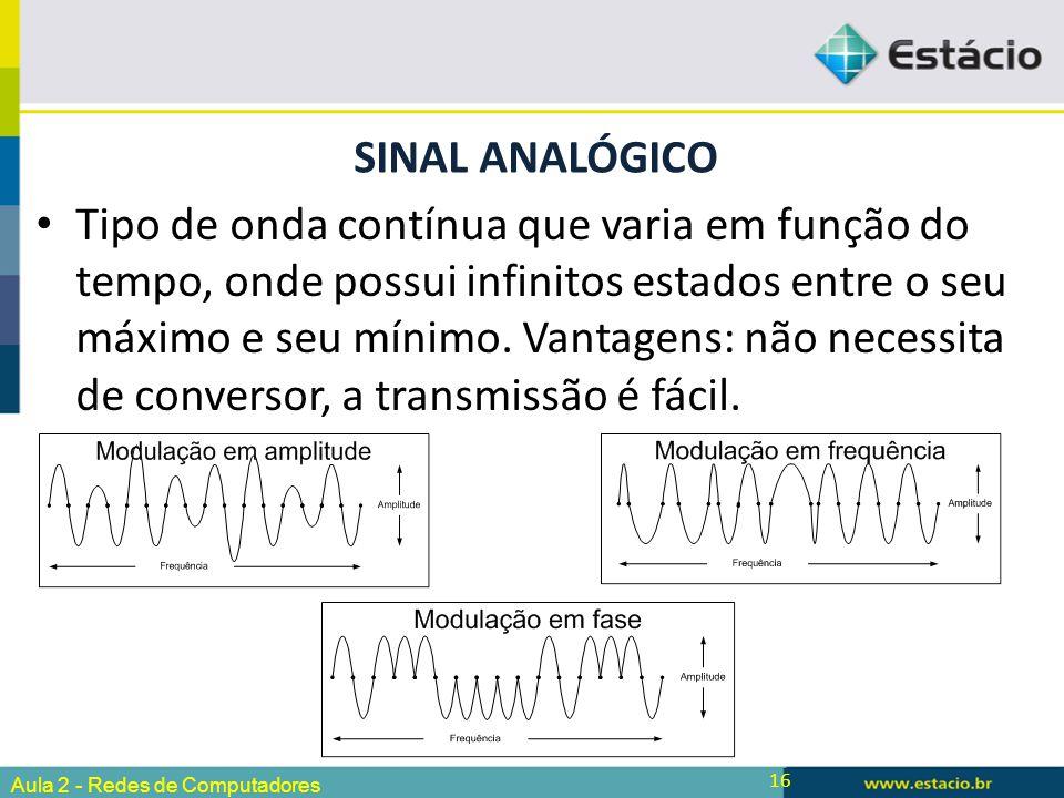 Sinal analógico