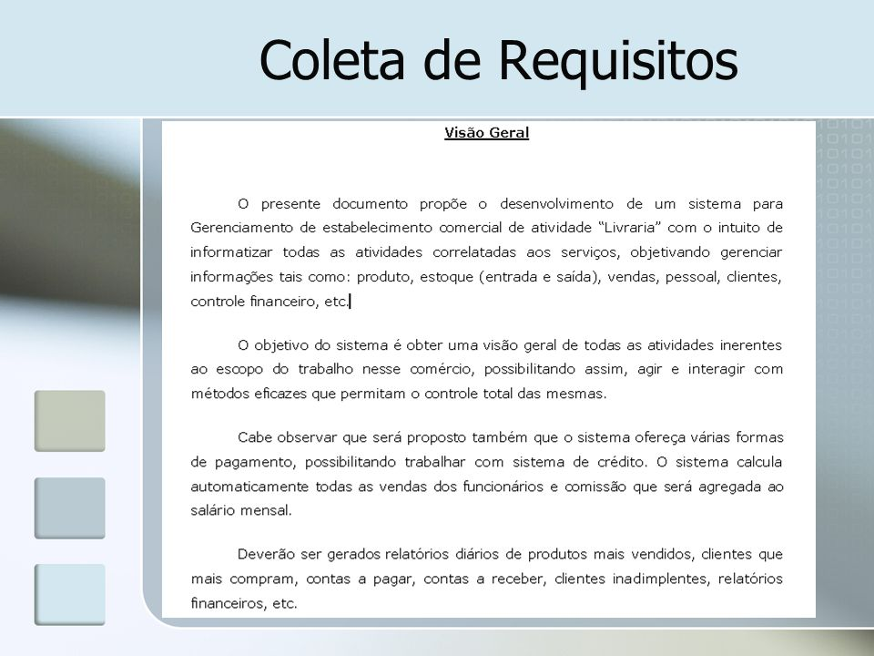 Coleta de Requisitos