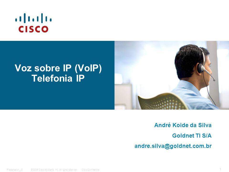 Voz sobre IP (VoIP) Telefonia IP