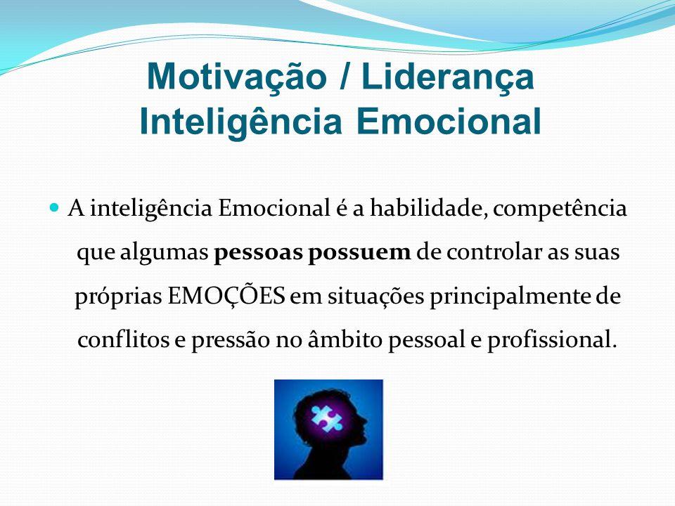 Motivação / Liderança Inteligência Emocional