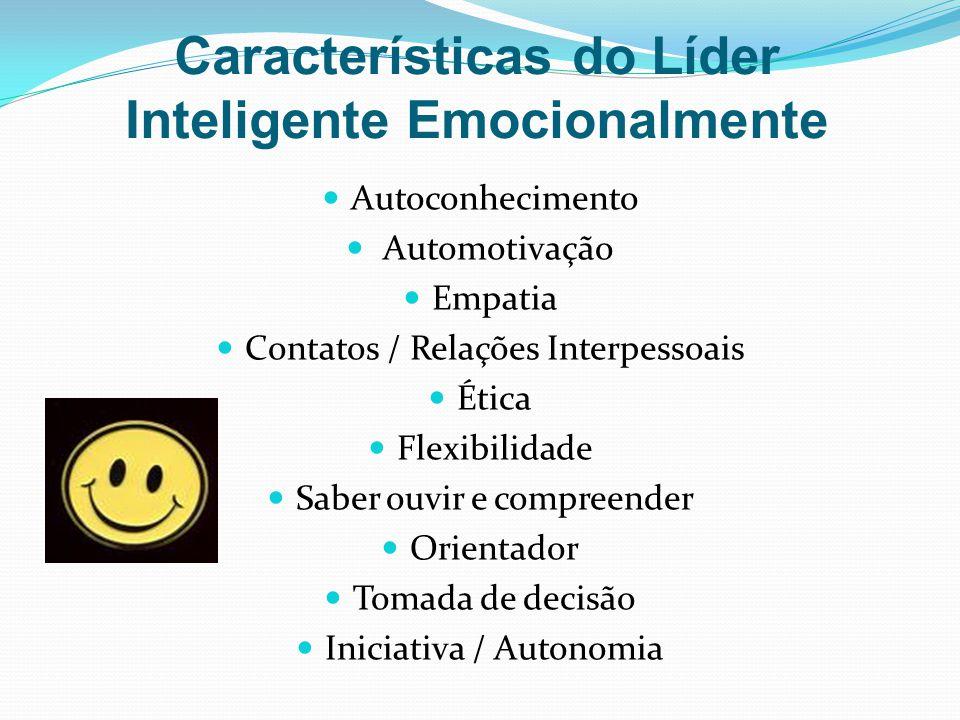 Características do Líder Inteligente Emocionalmente