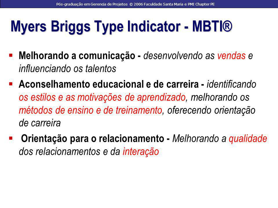 Myers Briggs Type Indicator - MBTI®