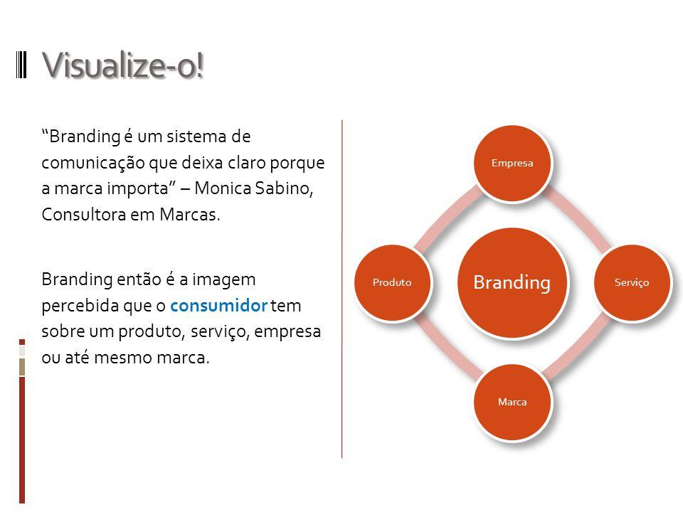 Visualize-o! Branding. Empresa. Serviço. Marca. Produto.