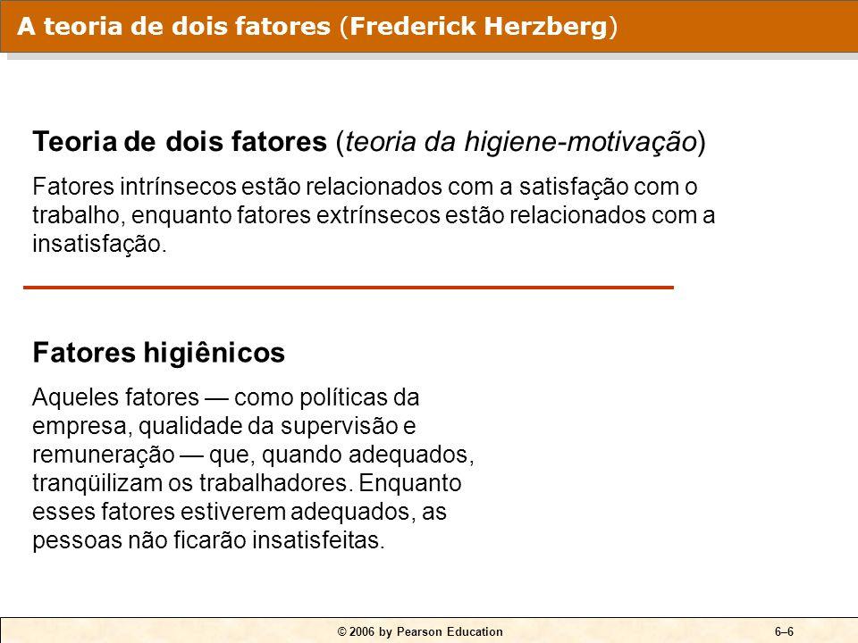 QUADRO 6-2 Comparação entre satisfeitos e insatisfeitos