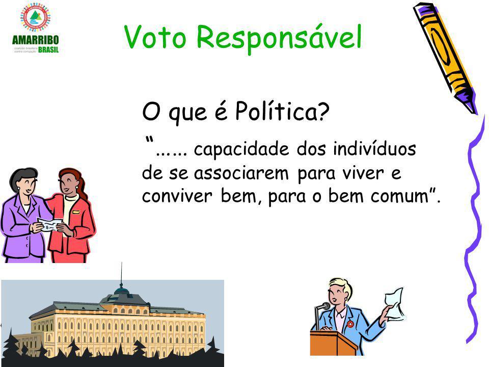 Voto Responsável O que é Política