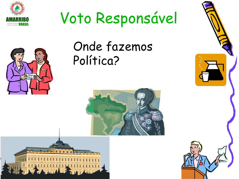 Voto Responsável Onde fazemos Política