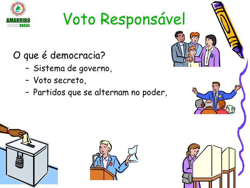 Voto Responsável O que é democracia Sistema de governo, Voto secreto,