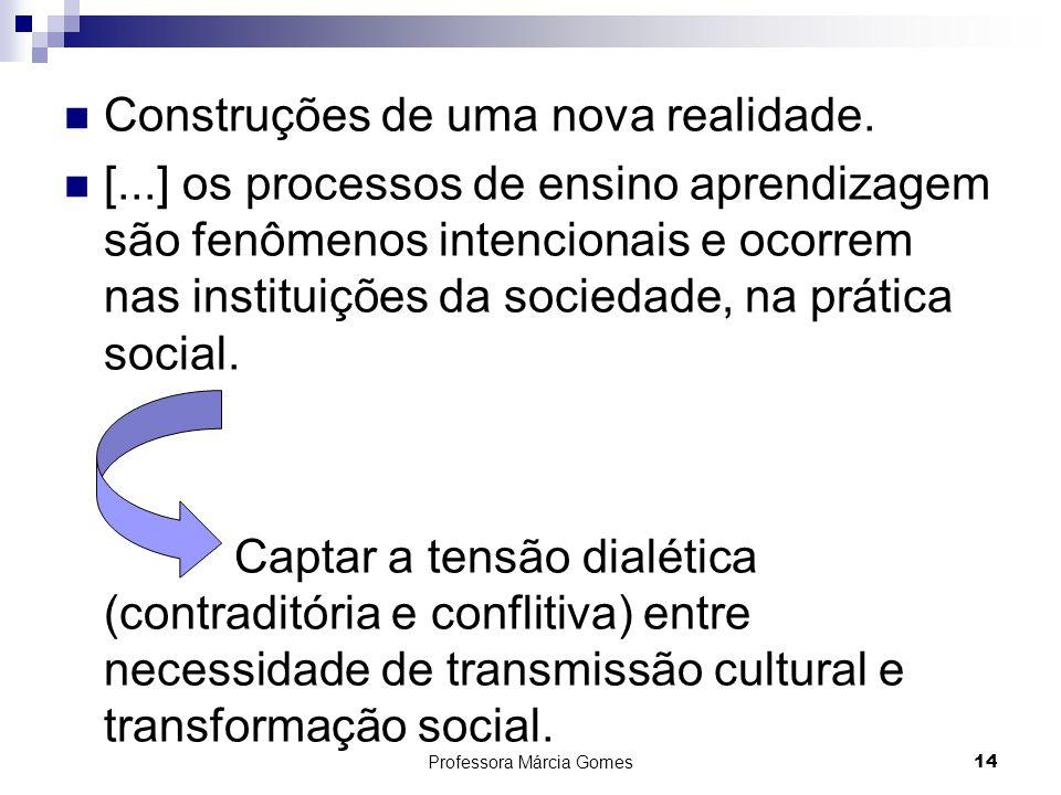 Professora Márcia Gomes