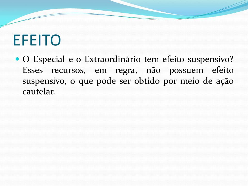 EFEITO