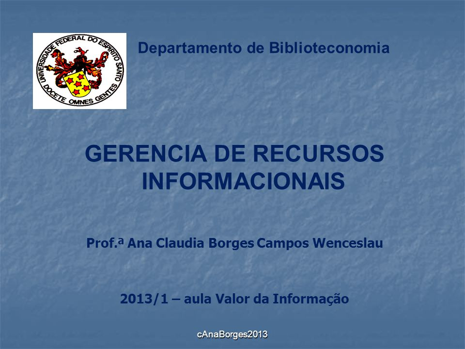 Departamento de Biblioteconomia