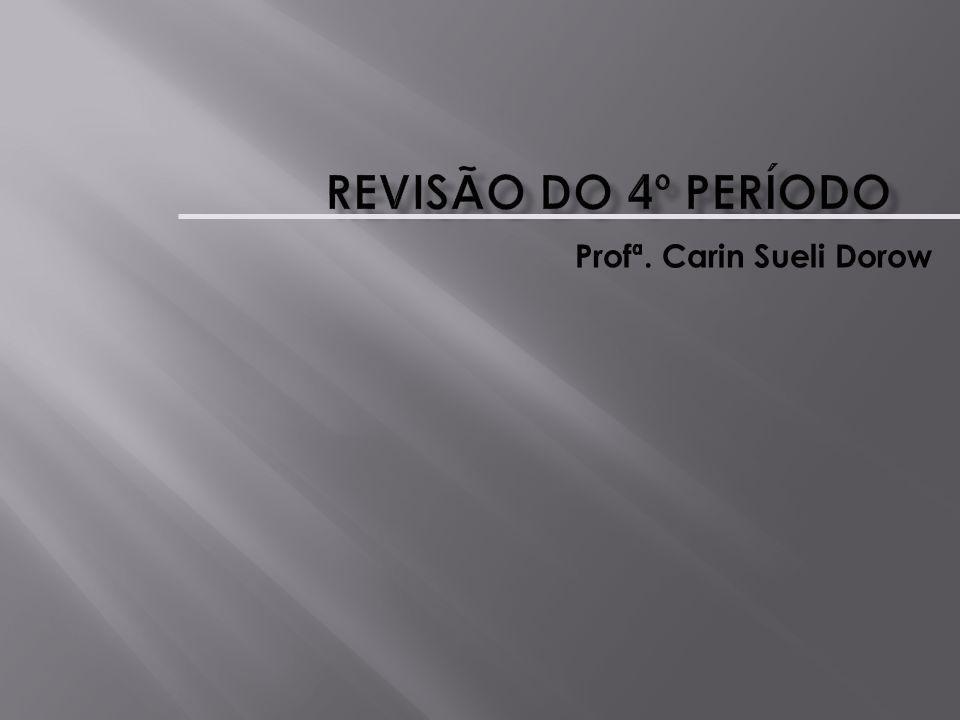 Profª. Carin Sueli Dorow