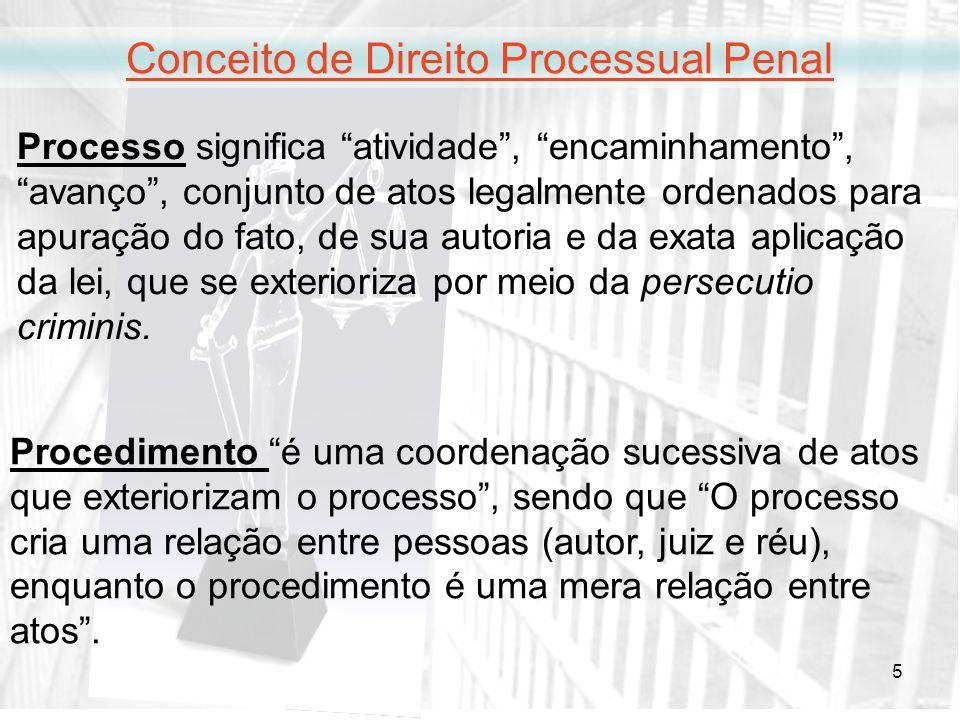 Conceito de Direito Processual Penal