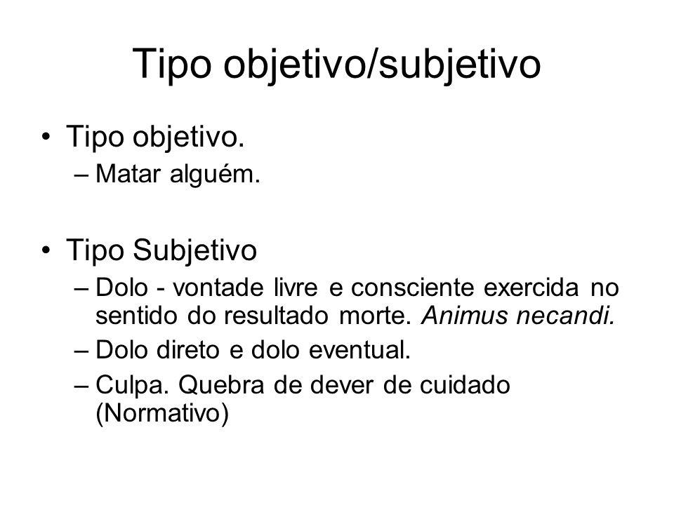 Tipo objetivo/subjetivo