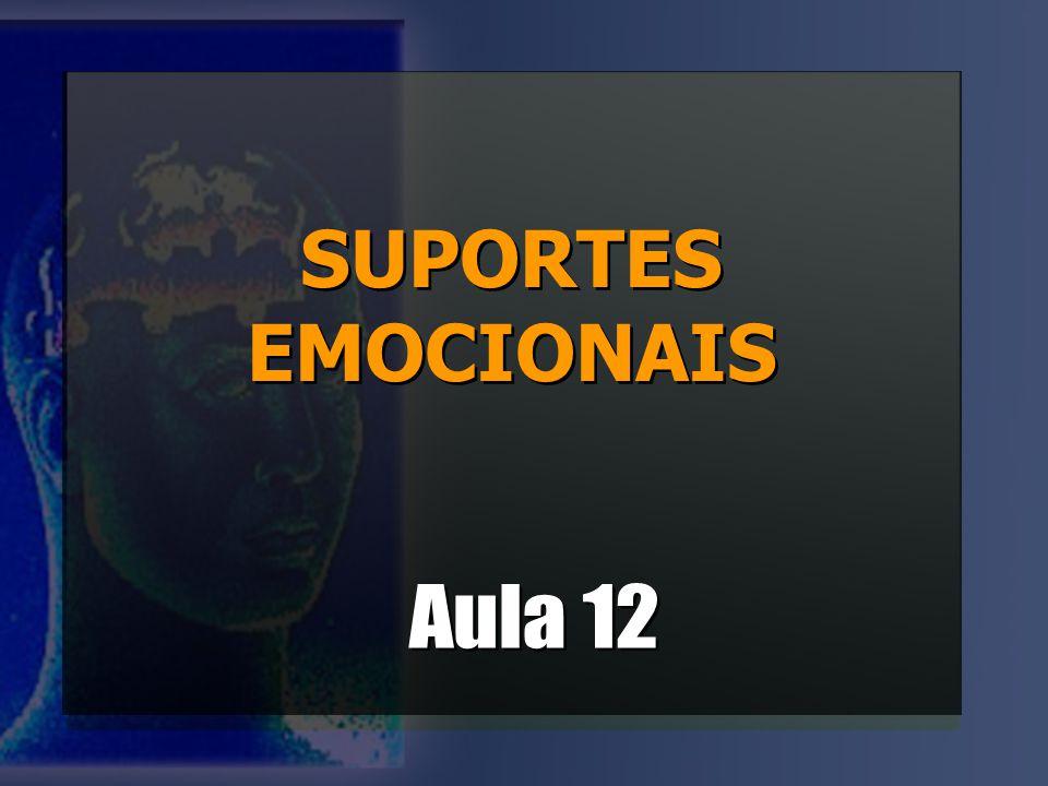 SUPORTES EMOCIONAIS Aula 12