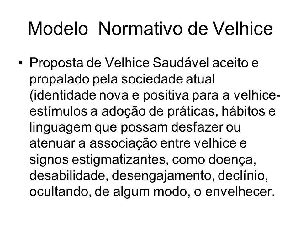Modelo Normativo de Velhice