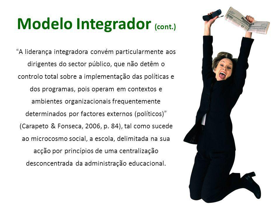 Modelo Integrador (cont.)